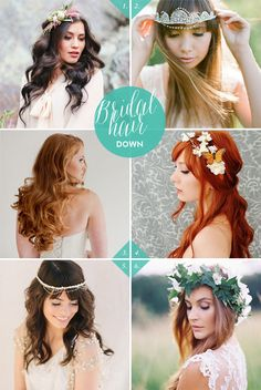 6 bridal hairstyles | Best Day Ever
