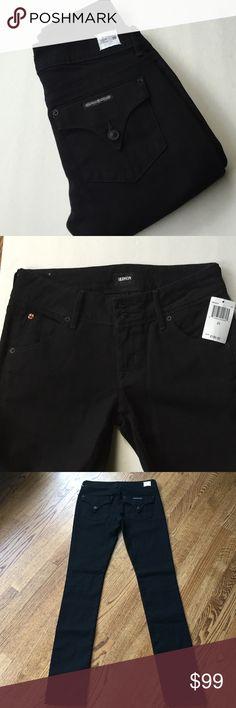 "NWT Hudson Collin black skinny jeans NWT Hudson Collin black skinny jeans size 25. Material 98% cotton, 2% spandex. Waist flat 14"", inseam 32"". Hudson Jeans Jeans Skinny"