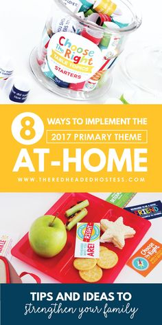 8 Ways to Implement the 2017 LDS Primary Theme At Home - FHE Ideas, teaching suggestions, and much more!