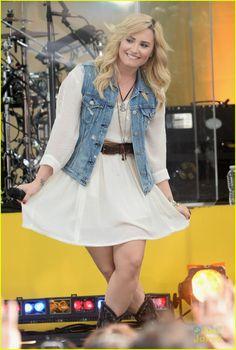 Demi Lovato Sings Her Hits on 'GMA'! | demi lovato good morning america summer concert performer 12 - Photo