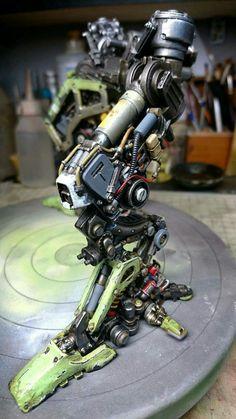( *`ω´) ιf you dᎾℕ't lιkє Ꮗhat you sєє❤, plєᎯsє bє kιnd Ꭿℕd just movє ᎯlᎾng. Robot Concept Art, Armor Concept, Armadura Cosplay, Robot Parts, Arte Robot, Gundam Custom Build, Sci Fi Models, Sci Fi Armor, Robot Design
