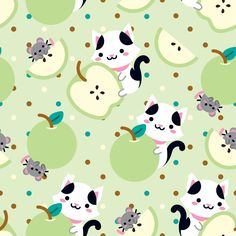 Green Apple (っ ˘ڡ˘ ς) – Maça verde (っ ˘ڡ˘ ς)