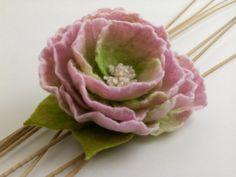 Felt Flower Brooch by felttess on Etsy, $36.00