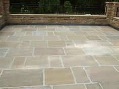 York Stone Sandstone Limestone Tumbled & Brushed Flagstone Tiles Slabs