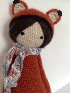 Fibi die Fox-Lalylala-Puppe von KitchAndMaud auf Etsy