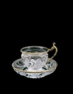 Cup and Saucer | Corning Museum of Glass