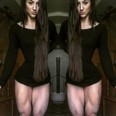 - WOMEN's muscular ATHLETIC LEGS especially CALVES - daily update!: Bakhar Nabieva Huge Muscular Quads