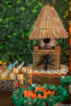 Festa Infantil | Bichinhos da floresta | Vestida de Mãe | Blog sobre Gravidez, Maternidade e Bebês por Fernanda Floret
