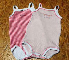 cd49afb98f0f3 Lot de 2 bodies Petit Bâteau pour bébé fille de 9 mois 9 Mois