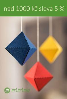 Při nákupu mobilů/závěsných dekorací mimimo nad 1000 kč, sleva 5 %. Mobiles, Montessori, Design, Mobile Phones
