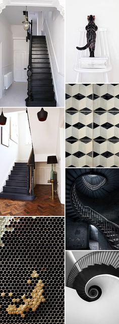 black and white decor and home furnishings. / sfgirlbybay