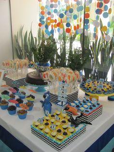 Festa Rio - Blu ; Vista da mesa