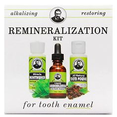 Remineralization Kit for Tooth Enamel & Mineral (1 Kit) U...