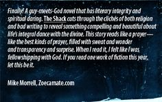 The Shack.... Great read.