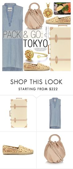 """Pack & Go:Tokyo"" by totwoo ❤ liked on Polyvore featuring Globe-Trotter, rag & bone and Loewe"