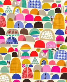 Grow Over, Grow Under Abstract Illustration by Helen Dardik. Textile Patterns, Textile Design, Fabric Design, Print Design, Textiles, Pattern Texture, Surface Pattern Design, Pattern Art, Abstract Pattern