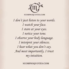 Scorpio Facts #003 | Scorpio Quotes Pinterest@Sagine_1992Sagine☀️
