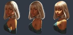 ArtStation - study works, Tony Liu