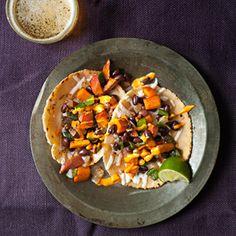 @kadyllaine Roasted Sweet Potato and Black Bean Tacos