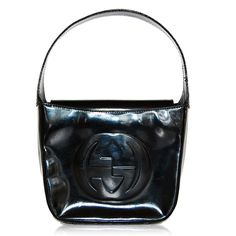 Gucci Black Glossy Small Hobo http://www.consignofthetimes.com/product_details.asp?galleryid=7287