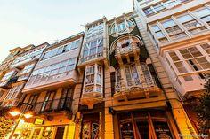 Ferrol en La Coruña, Galicia