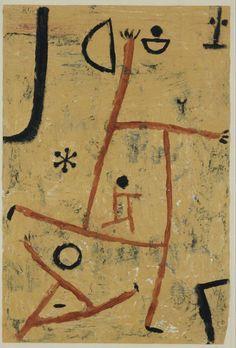 Mit besonderen Köpfen - Paul Klee (Swizterland, 1879-1940)