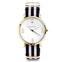 Klokke med nylonrem Daniel Wellington, Watches, Accessories, Wrist Watches, Wristwatches, Tag Watches, Watch