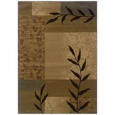 Oriental Weavers Kiawah Chadwick Beige 8 ft. 2 in. x 10 ft. Area Rug-271597 at The Home Depot