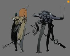 ArtStation - BOt sketches, Darren Bartley