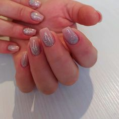 Nature Glitter Short Coffin Nails ❤ 30+ Outstanding Short Coffin Nails Design Ideas For All Tastes ❤ See more ideas on our blog!! #naildesignsjournal #nails #nailart #naildesigns #coffins #coffinnails #shortcoffinnails #coffinnailshapes