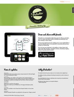 Pistachio Sketching App Website