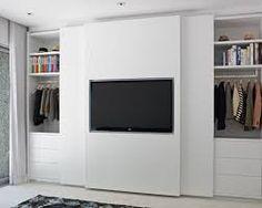 Resultado de imagem para fitted wardrobes bedroom tv