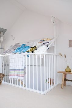 From Sniglar crib to drying rack - A good story - Ikea Hack! From Sniglar crib to drying rack – A good story - 60s Furniture, Luxury Furniture Brands, Rustic Furniture, Furniture Design, Furniture Ideas, Ikea Crib Hack, Ikea Hacks, Attic Bedrooms, Discount Furniture
