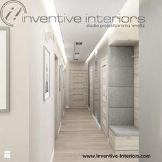 Wąski długi korytarz - zdjęcie od Inventive Interiors - Hol / Przedpokój - Styl…