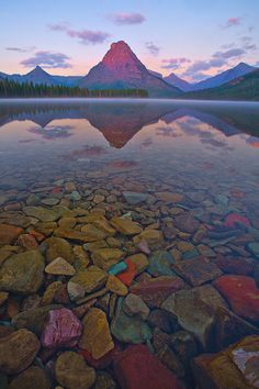 I Can See Forever -  Two Medicine Lake, Glacier National Park, Montana by Kevin McNeal