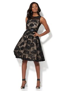 4999f02665dc Shop Lace Fit & Flare Dress. Find your perfect size online at the best