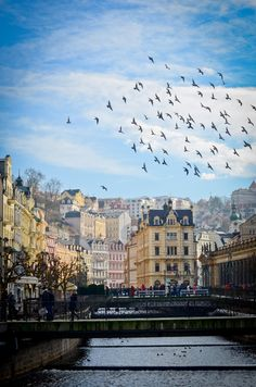 karlovy vary (carlsbad), czech republic #travel #europe