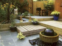Great idea for a southwestern garden.