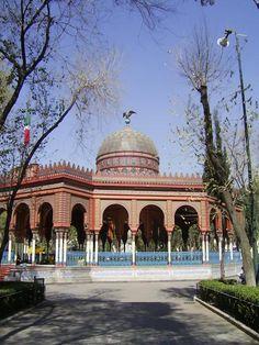 Kiosco Morisco de Santa María La Ribera