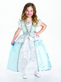 Australia's largest children toys and book online store  now stocking Little Adventures... - http://davesdeals.com.au/products/little-adventures-classic-cinderella-princess-dress-up-costume-for-girls-size-large?utm_campaign=social_autopilot&utm_source=pin&utm_medium=pin #Childrentoys #Childrenbooks