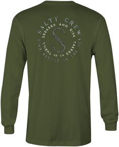 more photos 19309 dd215 Salty Crew Arched Long Sleeve T-Shirt