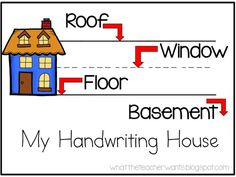 What the Teacher Wants!: The Handwriting House