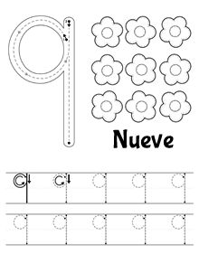 Número 7 | numeros | Pinterest | Math, Worksheets and Preschool ...