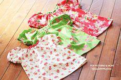 Ella Raglan Blouse Pattern (6 - 24 months) - PDF Pattern