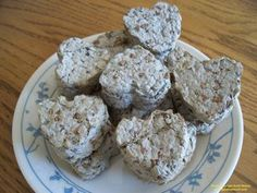 Recycled paper seed bombs - could poke hole, add ribbon and give as gift tag or ornament.