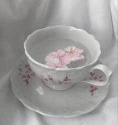 Romantic Cottage, Tea Cups, Tableware, Vintage, Food, Decor, Dinnerware, Decoration, Tablewares