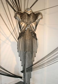 chain mail/scale mail dress