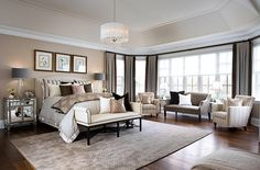 Bedroom and Bathroom Designs | Jane Lockhart Interior Design