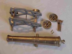 Scale Model Cannon manufactured and supplied by Palmer's Armoury Canon, Shooting Guns, Plane, Boats, Weapons, Door Handles, Nautical, Sailing, Steampunk