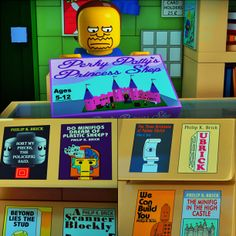 "Geek mashup at its finiest. ""Philip K. Brick"" gets a shout-out in The Simpsons LEGO Episode."